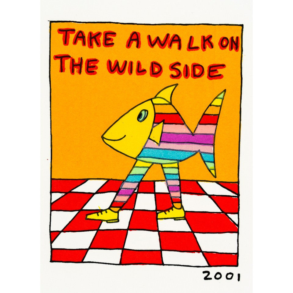 Wild Side - James Rizzi - Artist - Artwork