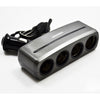 Cigarette Lighter 12v Multi-port Adapter with Extension Cord