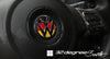 VW Emblem Decal Inserts