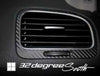 Carbon Fibre Sticker Interior Trim for VW Golf mk6