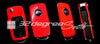VW Key Fob Carbon Vinyl Stickers