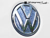 Crystal Rear VW Emblem Inserts