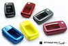 Metallic-finish Key Fob Covers