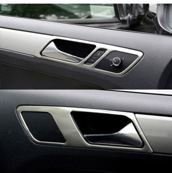 Brushed Steel Trim for VW Jetta (Door Handle)
