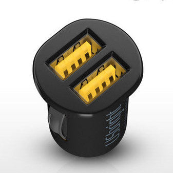 Dual-port Mini USB Charger