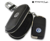 VW Leather Key Fob Pouch