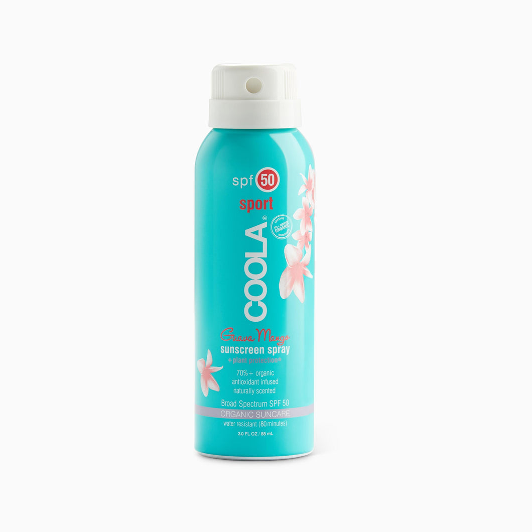 Coola Travel Body Spray SPF 30 Guava Mango -  3 FL OZ