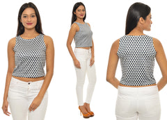 Geometrical Printed CropTop