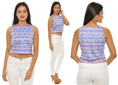 Aztec Color CropTop