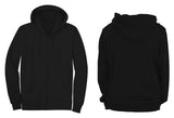 black sweatshirts