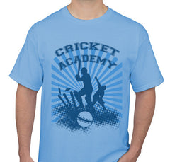 Cricket Blue Men's T-shirt