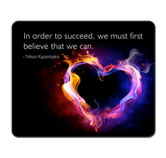 Succeed Quote Mouse Pad