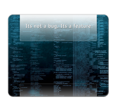 Not a Bug Mouse Pad