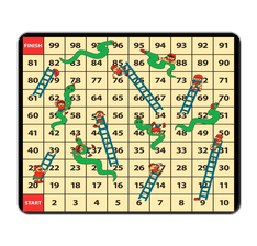 Snakes & Ladders Mouse Pad