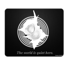 Quiet World Mouse Pad
