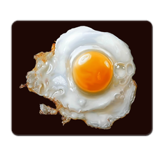 Fried Egg Mouse Pad