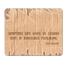 Dar Williams Quote Mouse Pad