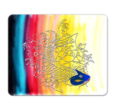 Fish Design Mouse Pad