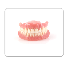 Dentures Mouse Pad