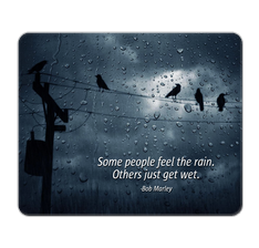Bob Marley Quote Mouse Pad