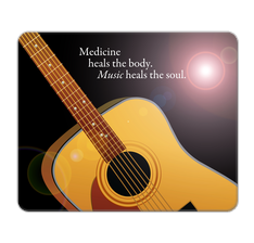 Music Heals the soul Mouse Pad