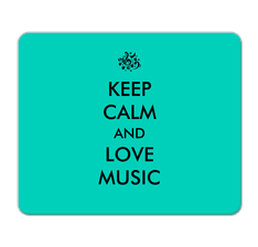 Love Music Mouse Pad