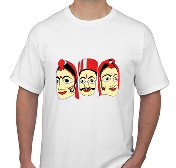 Puppets White Men's T-shirt
