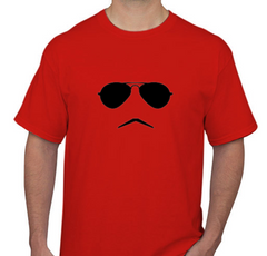 Cooling Glass Red Men's T-shirt