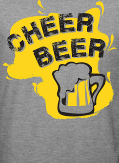 Cheer Beer Men's T-Shirt