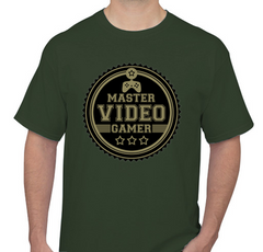 Video Gamer Green Men's T-shirt