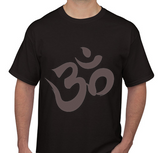 Om Symbol Black Men's T-shirt