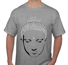 Buddha Grey Men's T-shirt