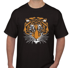 Tiger Black Men's T-shirt