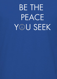 Be The Peace You Seek Royal Blue Men's T-shirt
