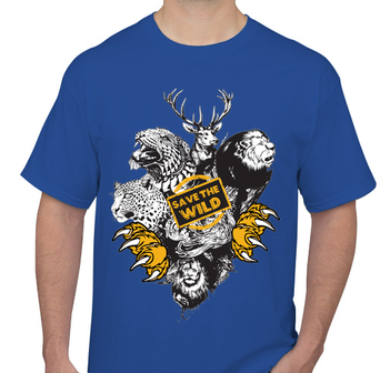 Save The Wild  Men's T-Shirt