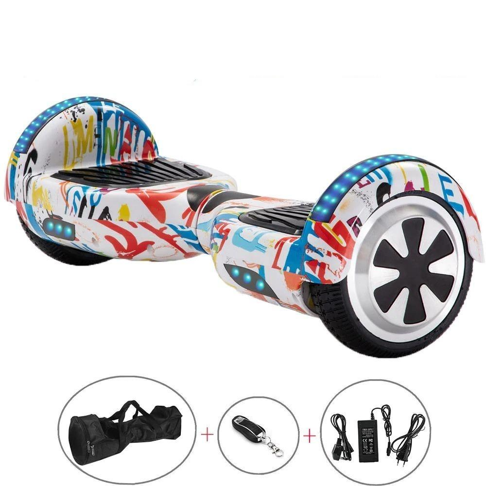 Hiphop Yellow Hoverboard with Speaker