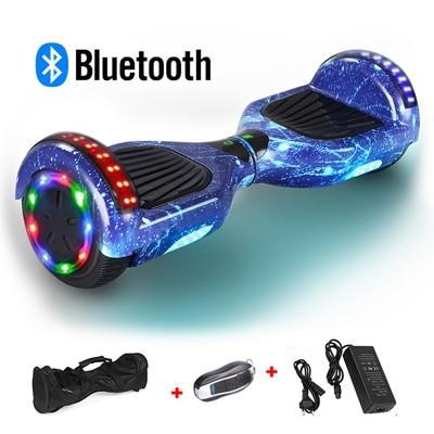 Hiphop Blue Hoverboard - Sam's Hoverboard