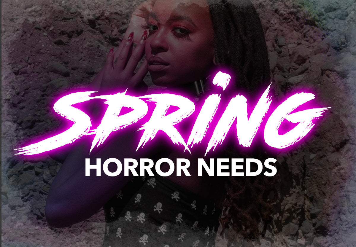 spring horror goth items dresses and more