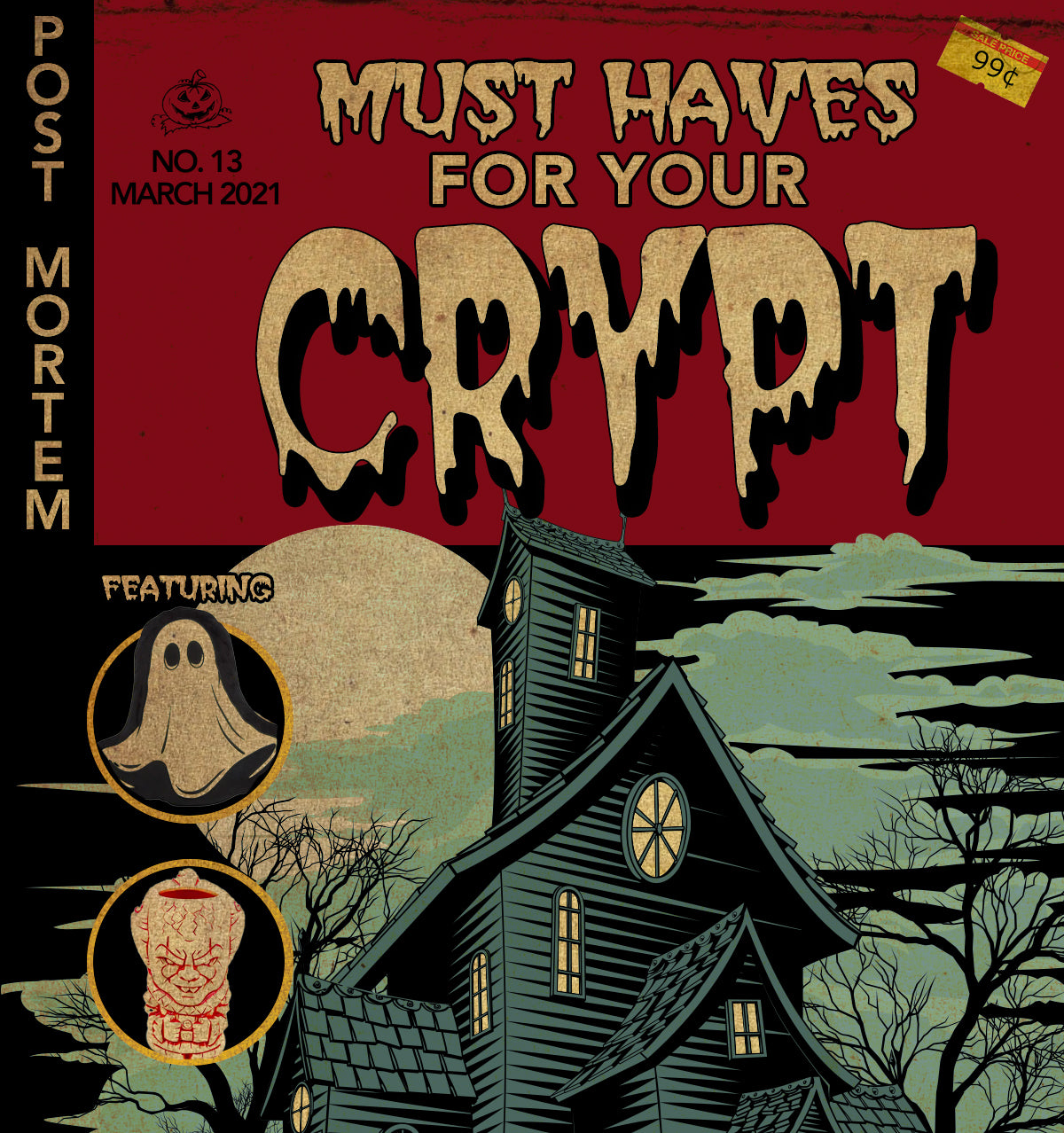 horror themed items for your home decor