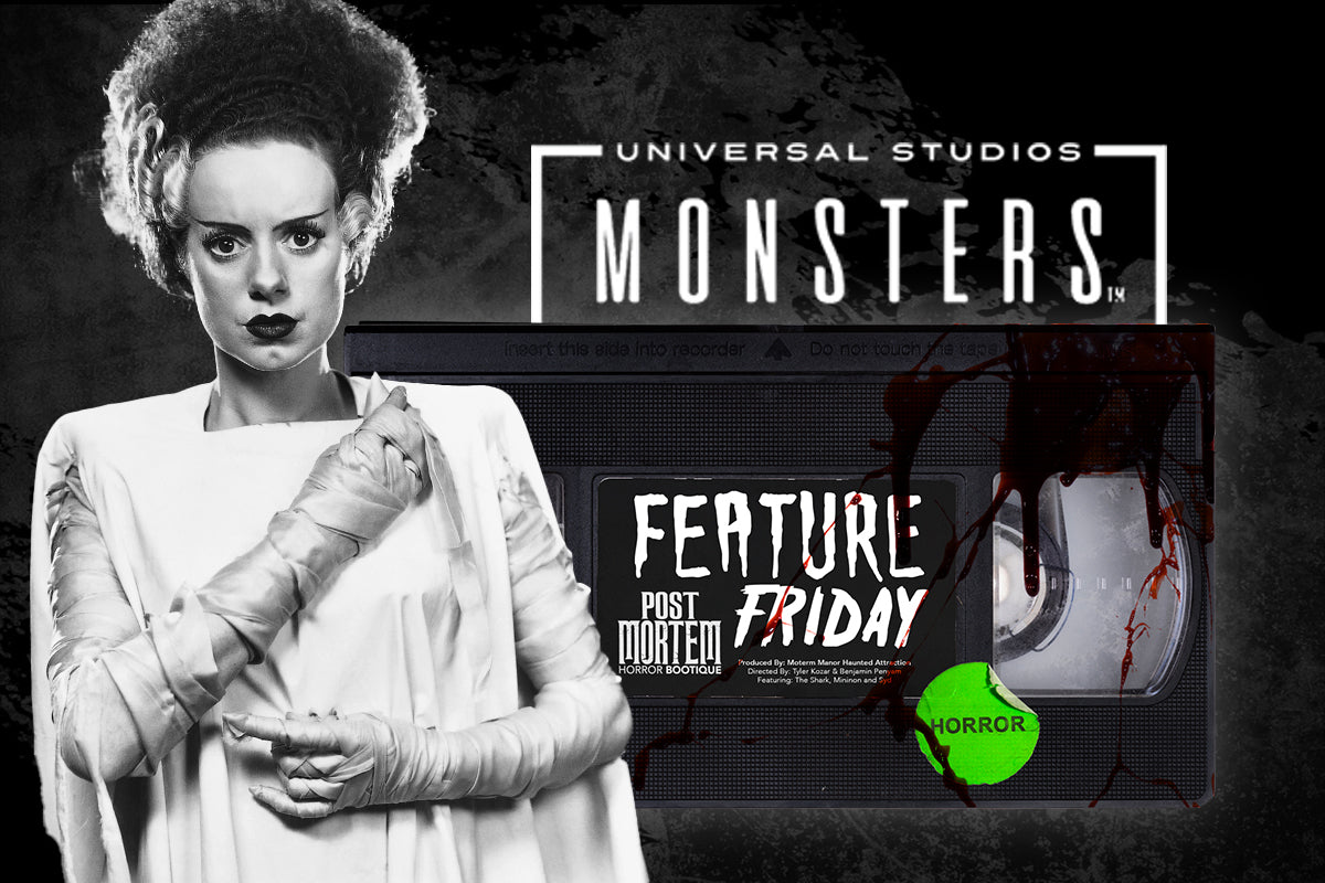 universal monsters classic horror merchandise officially licensed