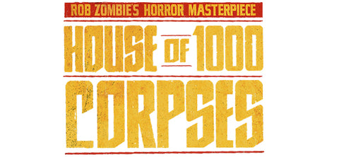 sid merchandise house of 1,000 corpses
