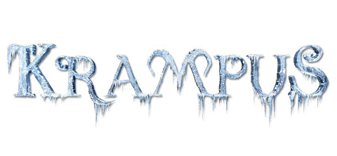 krampus movie logo merchandise