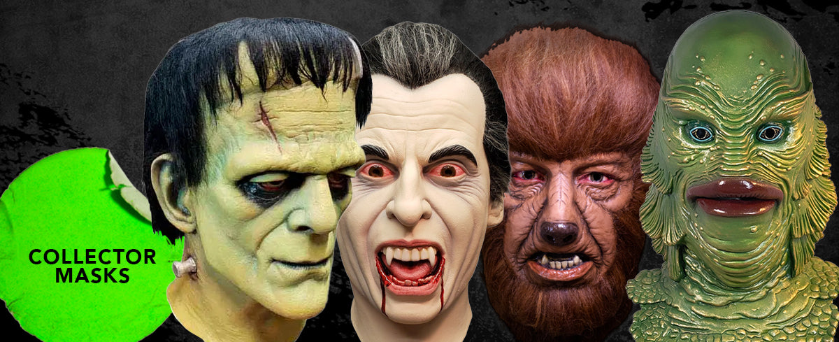 universal monsters classic trick or treat studios mask