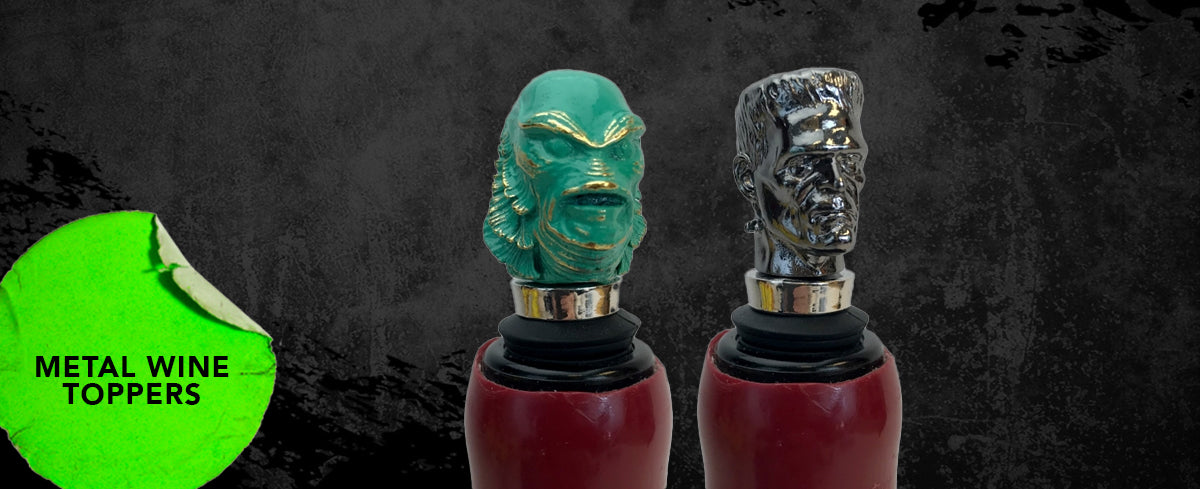 universal monsters wine toppers
