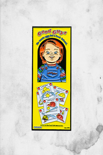 Chucky Good Guys Doll Box Pin
