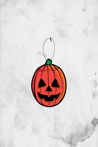 Halloween 3 pumpkin air freshener spooky