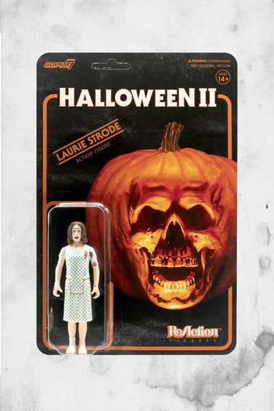 laurie strode halloween toy reaction collectible figure