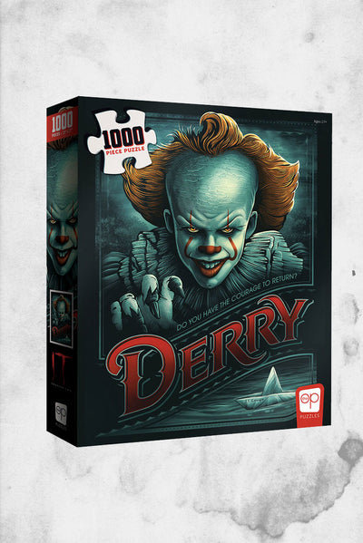 IT horror movie pennywise themed puzzle