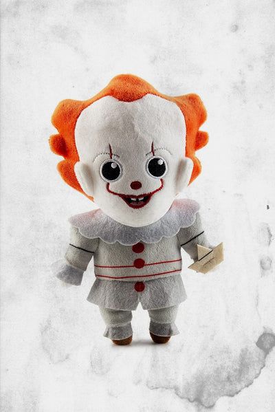 stephen king pennywise plush stuffed IT doll