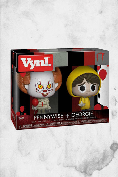 IT Vynl figures pennywise and georgy